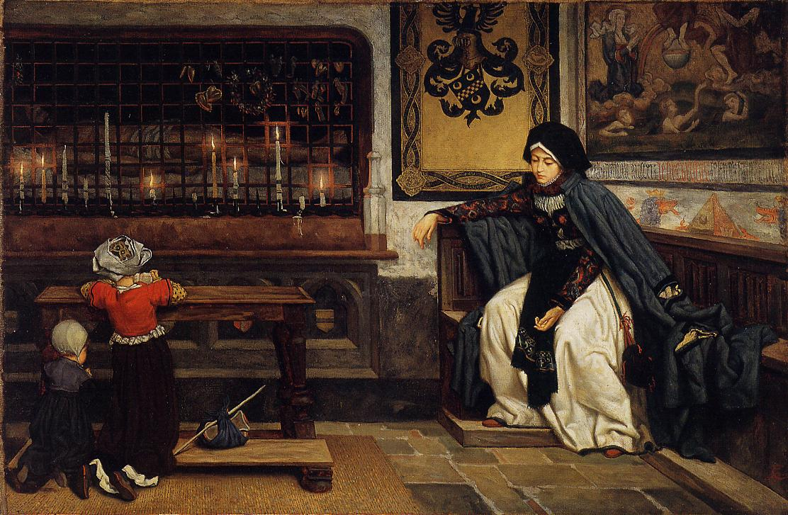 James Tissot S Early Narrative Paintings The Eclectic