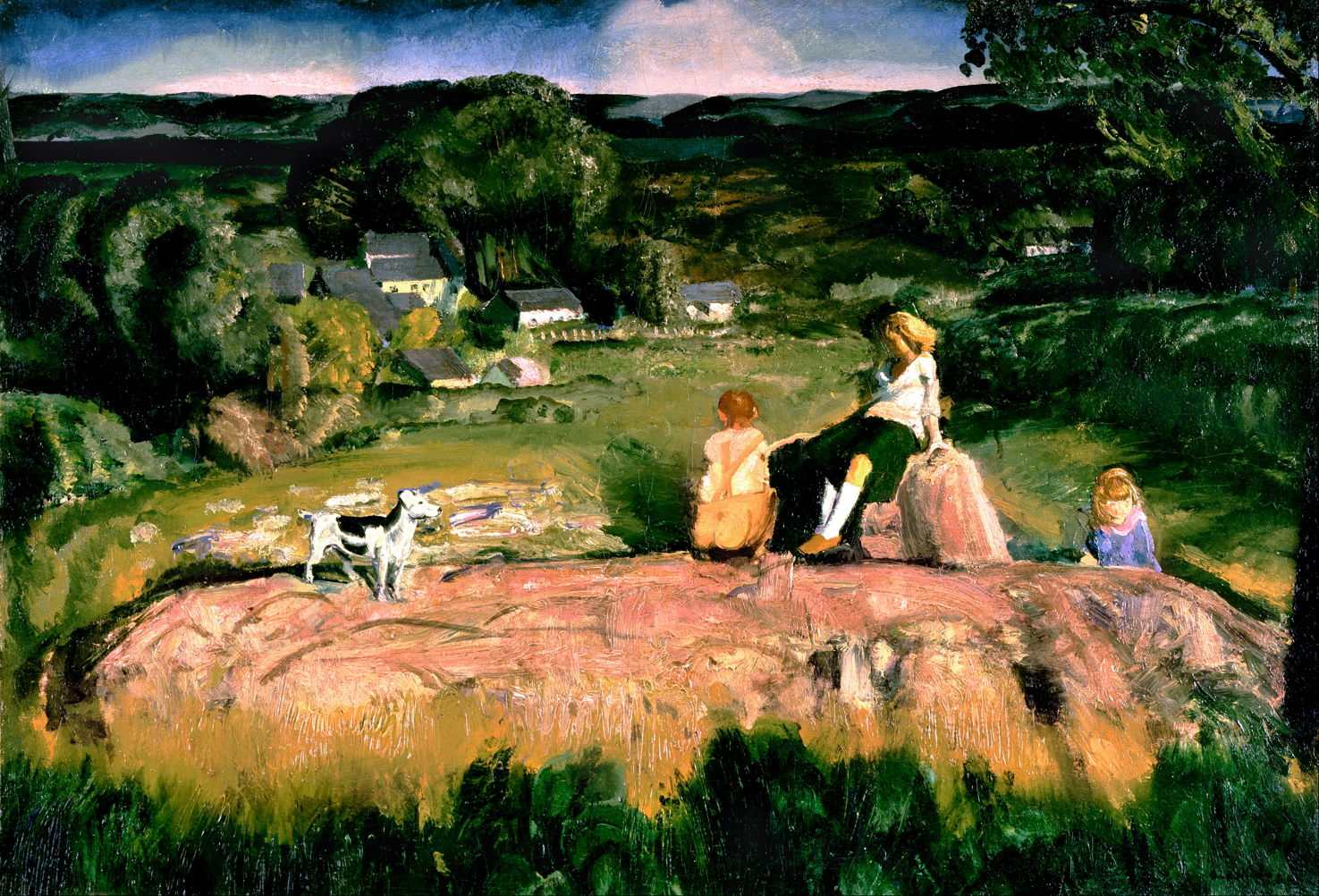 Into The Light George Bellows After 1914 The Eclectic