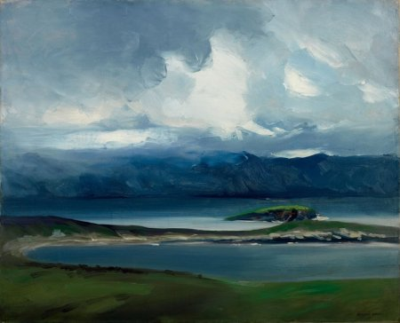 Robert Henri (1865–1929), West Coast of Ireland (1913), oil on canvas, 66 x 81.3 cm, Everson Museum of Art, Syracuse, NY. Wikimedia Commons.