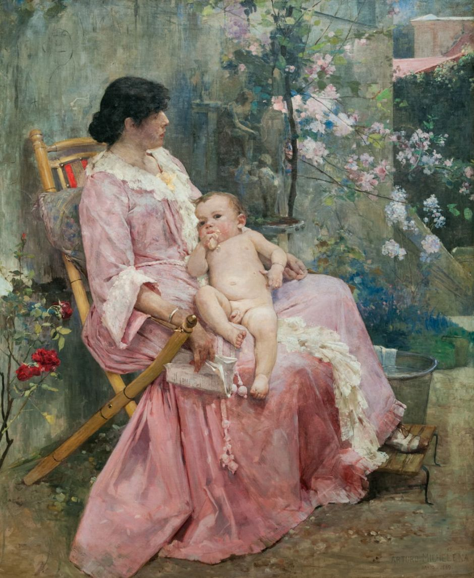 michelenayoungmother