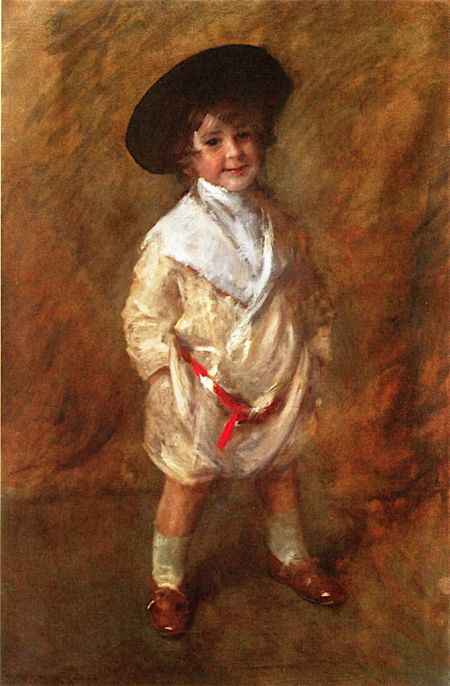 William Merritt Chase (1849–1916), Roland Dana Chase (1905), oil on canvas, 106.7 x 96.5 cm, Private collection. The Athenaeum.