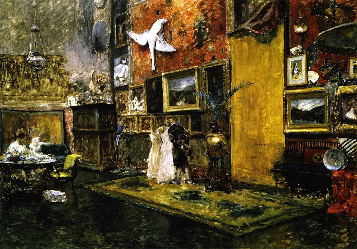 An analysis of the tenth street studio by william merritt chase