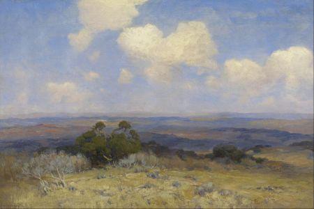 Julian Onderdonk (1882–1922), Sunlight and Shadow (1910), oil on canvas, 61 × 40.6 cm, Museum of Fine Arts, Houston, TX.