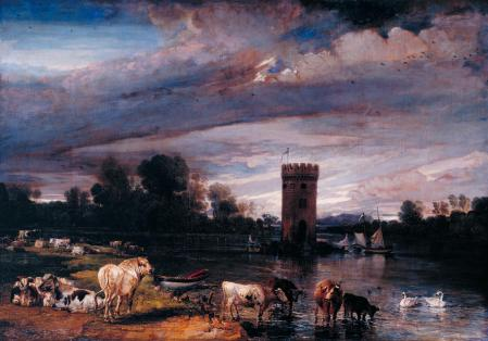James Ward (1769–1859), View in Tabley Park (1813–18), oil on canvas, 94 x 135.9 cm, The Tate Gallery (Presented by Robert Vernon 1847), London. © The Tate Gallery and Photographic Rights © Tate (2016), CC-BY-NC-ND 3.0 (Unported), http://www.tate.org.uk/art/artworks/ward-view-in-tabley-park-n00385