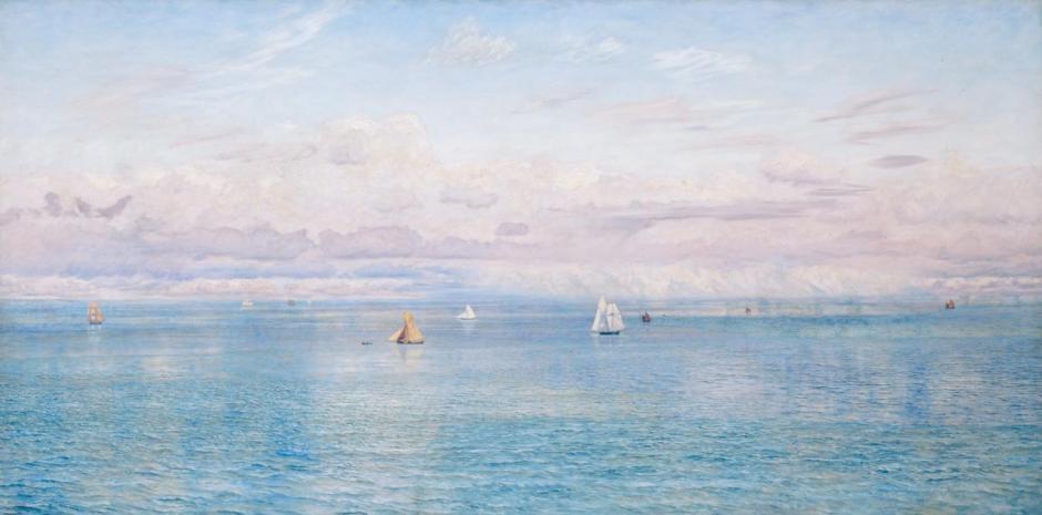 Britannia's Realm 1880 by John Brett 1831-1902