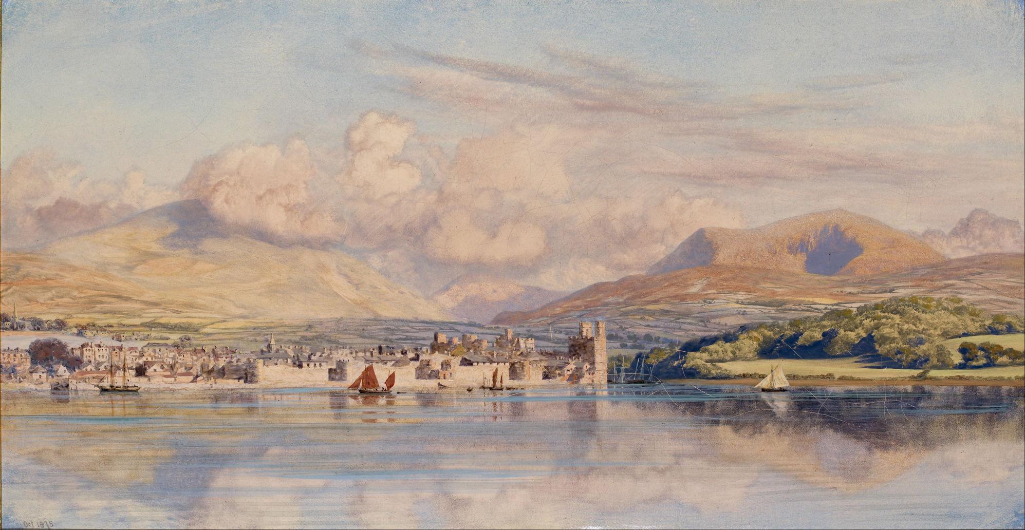 Pre Raphaelite Landscapes 5 John Brett 2 The Eclectic