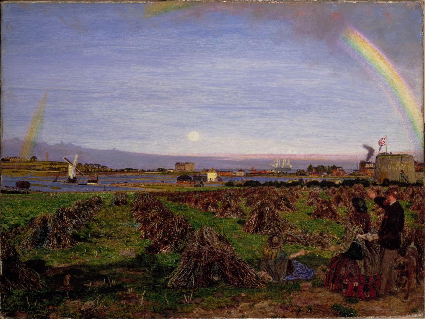Pre Raphaelite Landscapes 3 Development The Eclectic