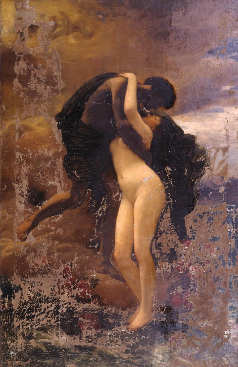 Helios and Rhodes by Frederic, Lord Leighton 1830-1896