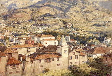 Edward Poynter (1836–1919), Funchal, Morning Sun (1877), watercolour, dimensions not known, Private collection. Wikimedia Commons.