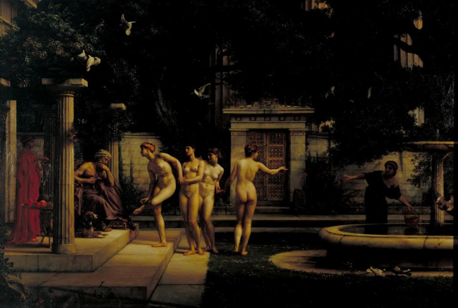A Visit to Aesculapius 1880 by Sir Edward Poynter 1836-1919