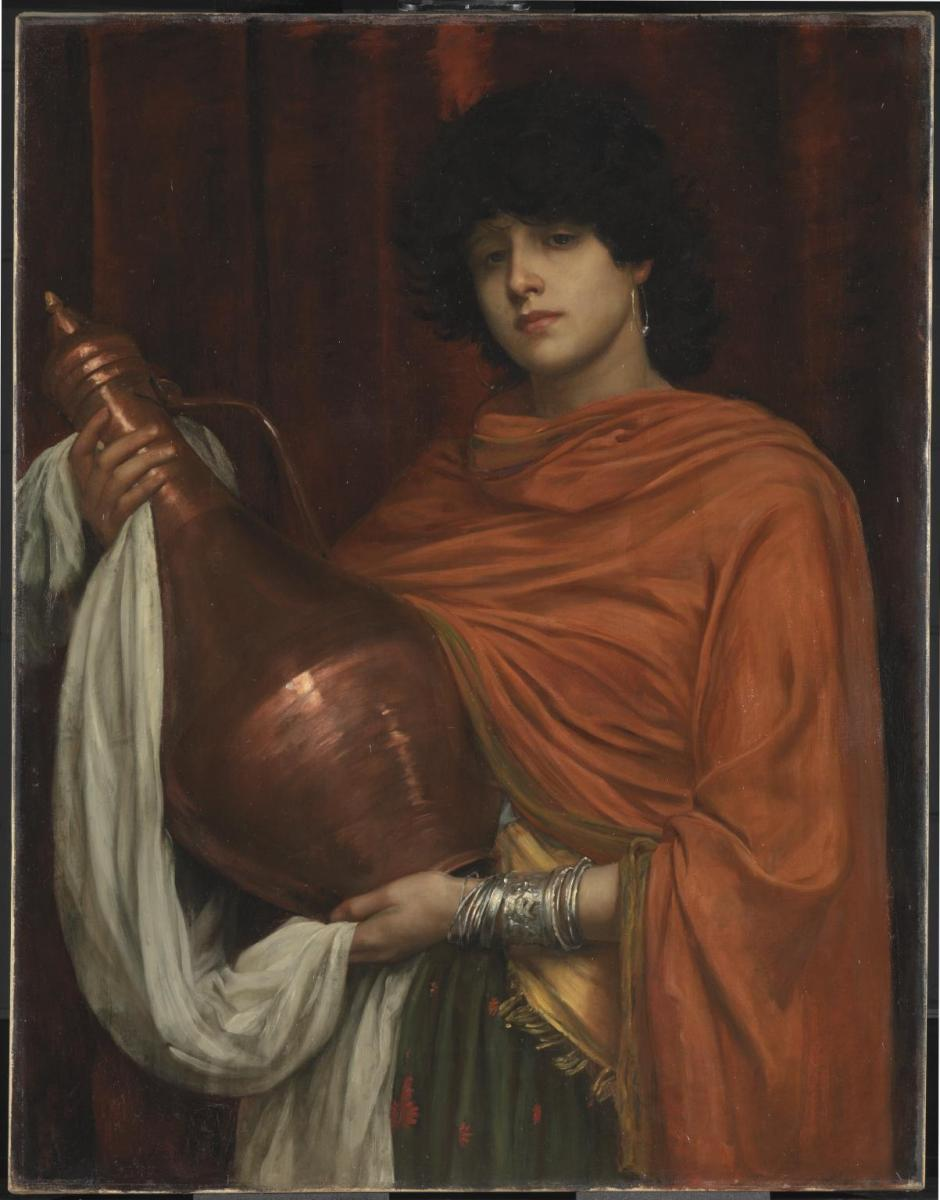 Ayesha exhibited 1887 by Valentine Cameron Prinsep 1838-1904