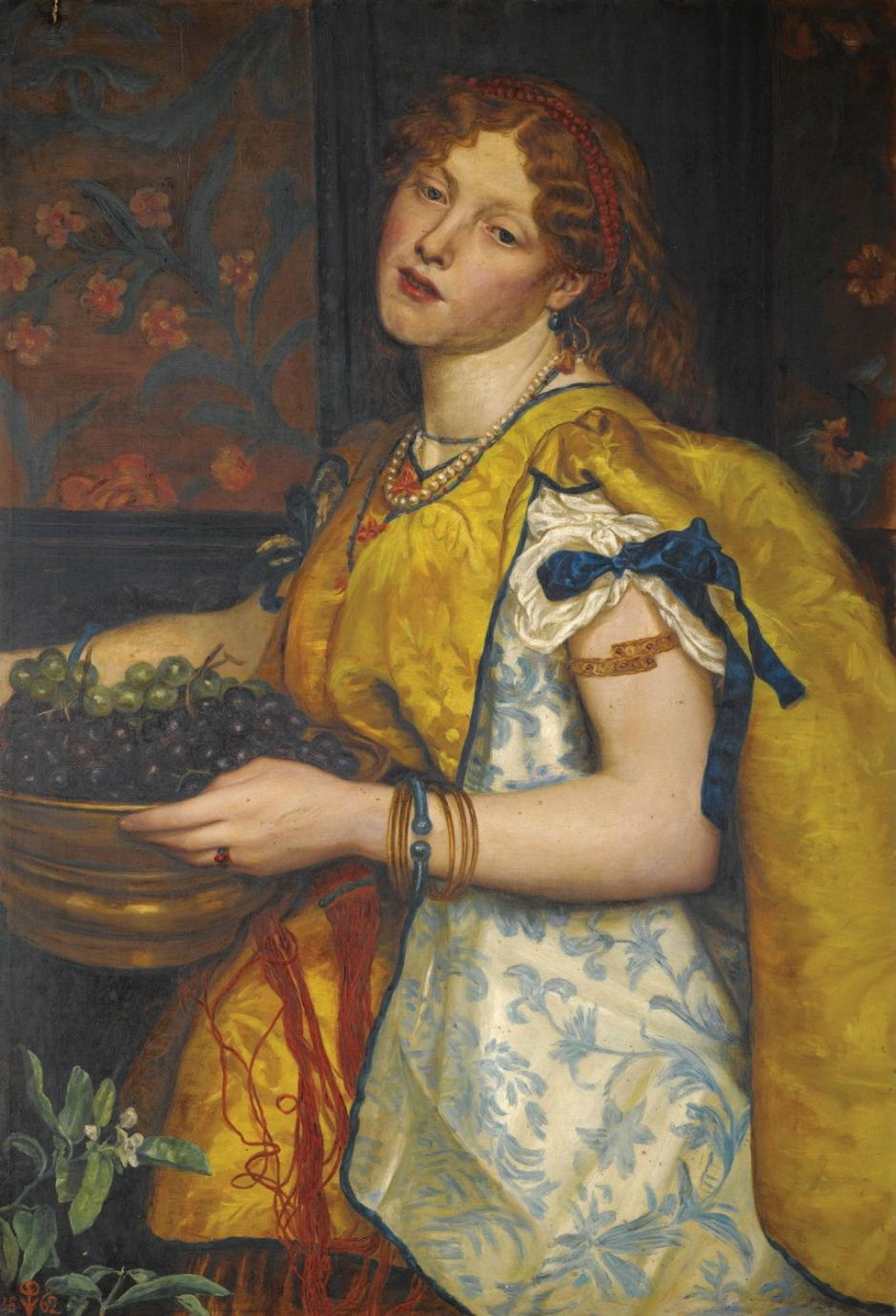 prinsepgirlcarryinggrapes