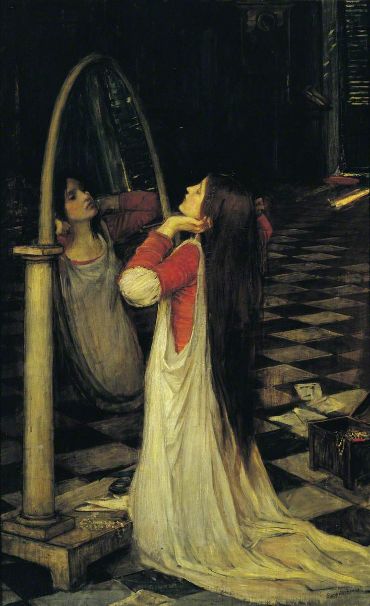Waterhouse, John William, 1849-1917; Mariana in the South