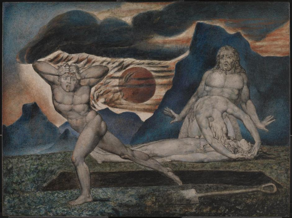 The Body of Abel Found by Adam and Eve c.1826 by William Blake 1757-1827