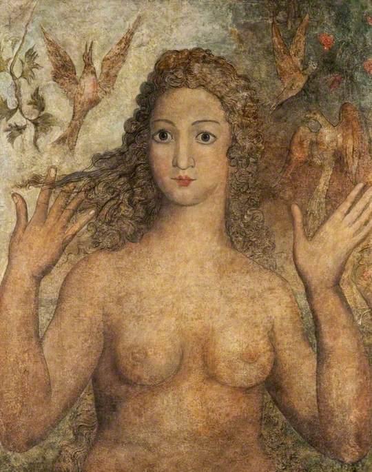 Blake, William, 1757-1827; Eve Naming the Birds