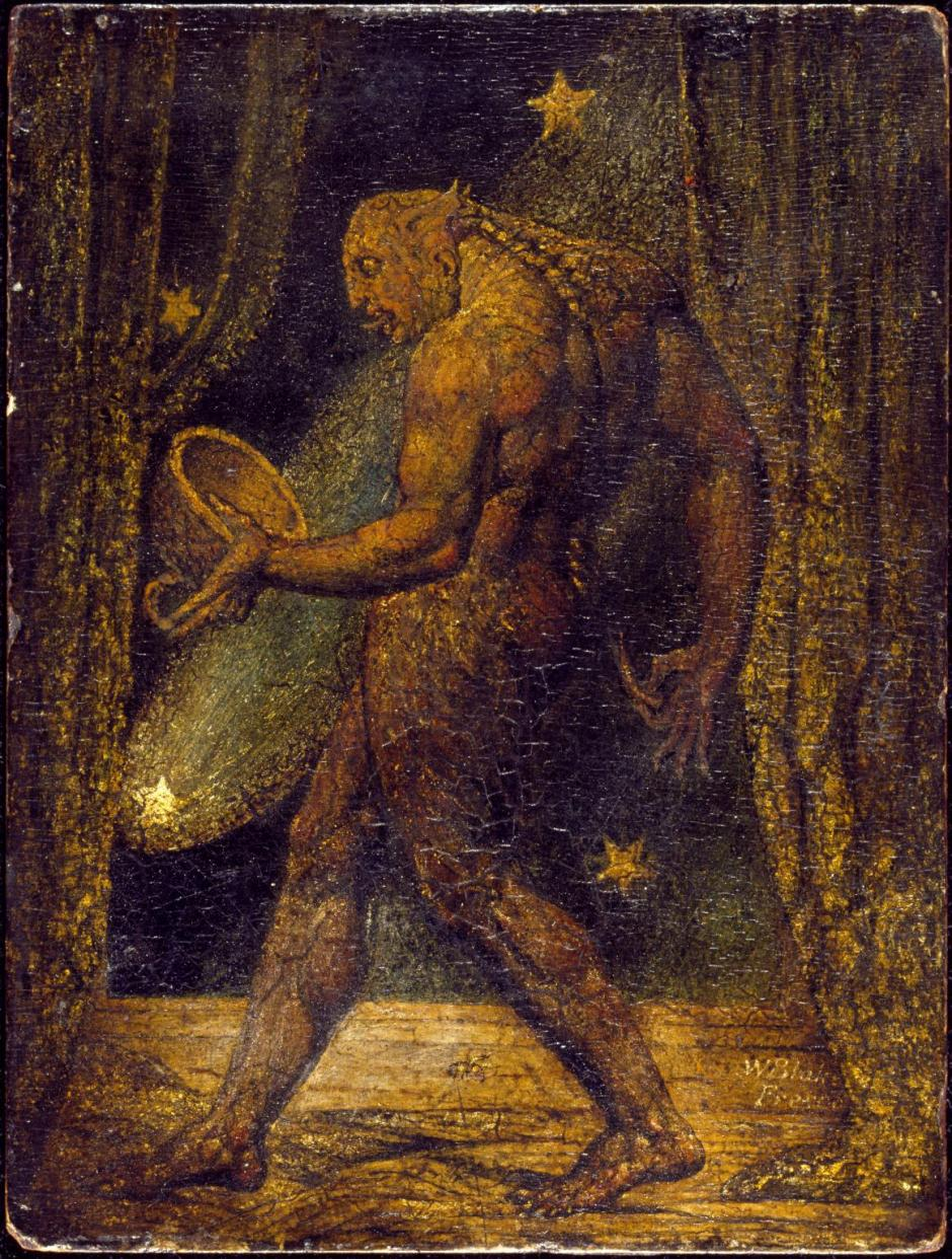 The Ghost of a Flea c.1819-20 by William Blake 1757-1827