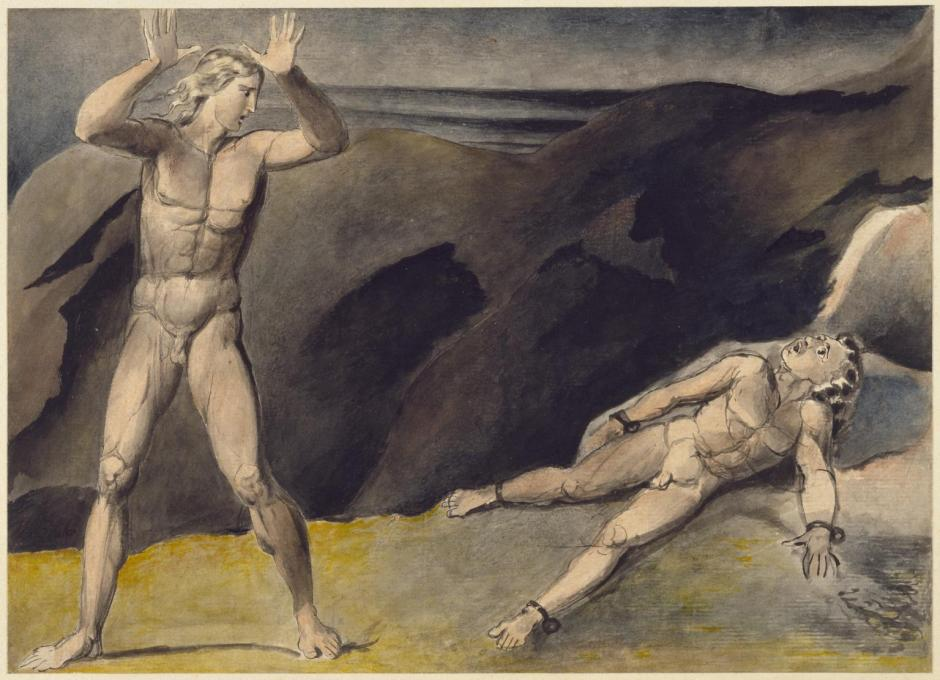 Los and Orc c.1792-3 by William Blake 1757-1827