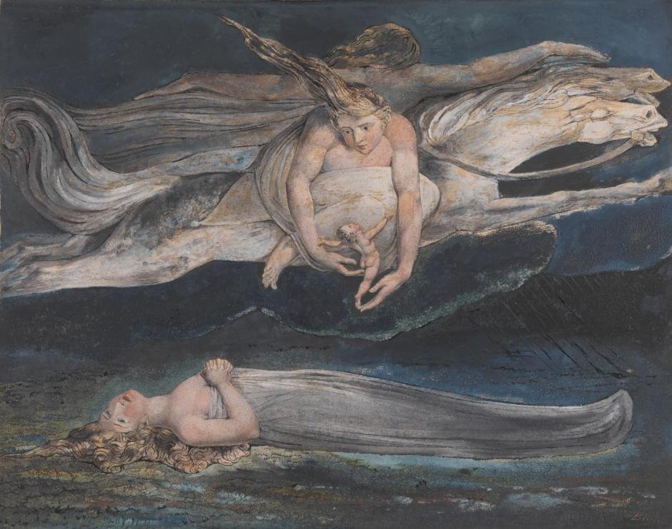 Pity c.1795 by William Blake 1757-1827