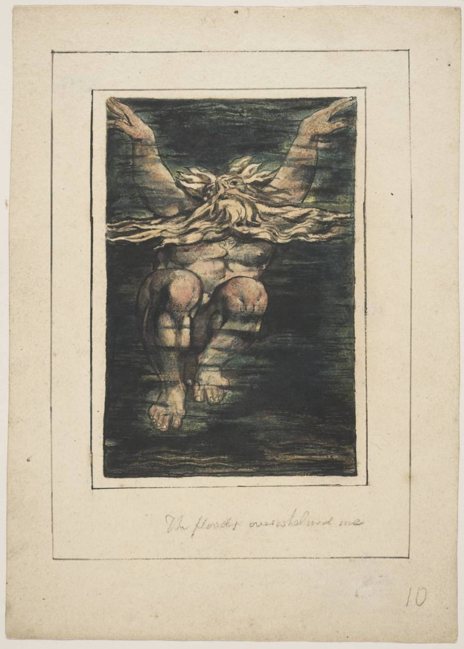 First Book of Urizen pl. 11 1796, circa 1818 by William Blake 1757-1827