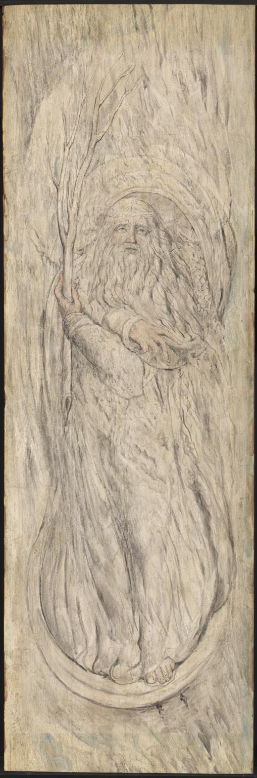 Winter c.1820-5 by William Blake 1757-1827