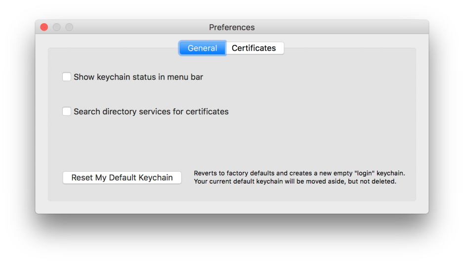 Why do I have to keep entering my keychain password in Sierra? – The