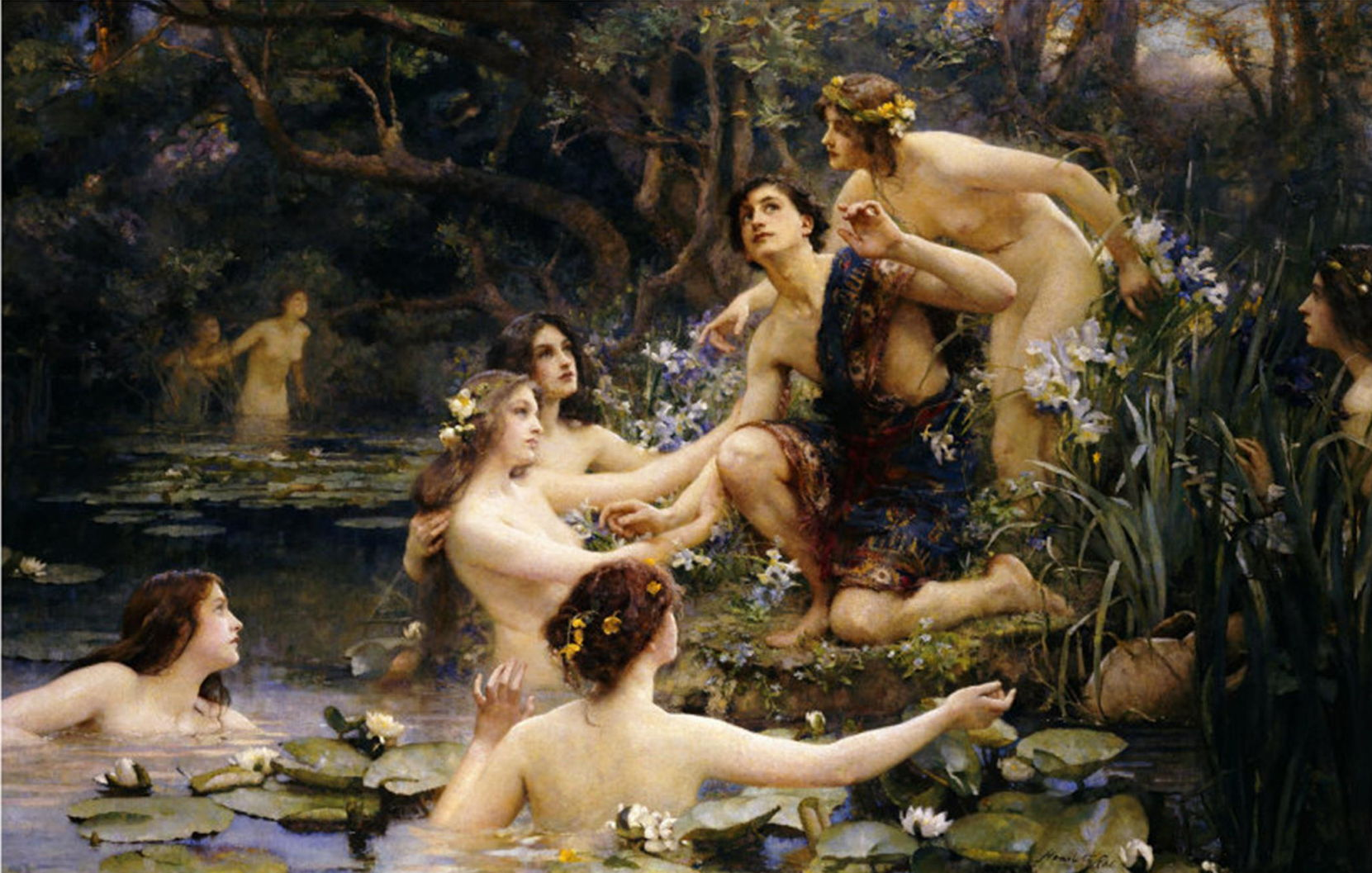 Nude water nymphs