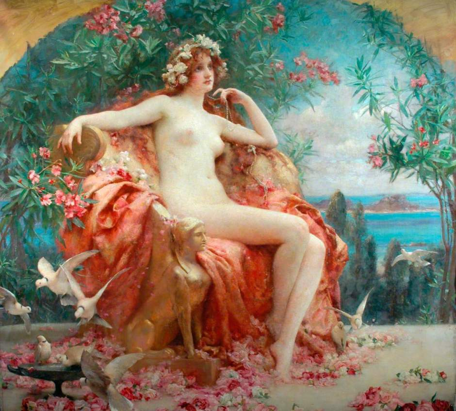 Rae, Henrietta, 1859-1928; Roses of Youth