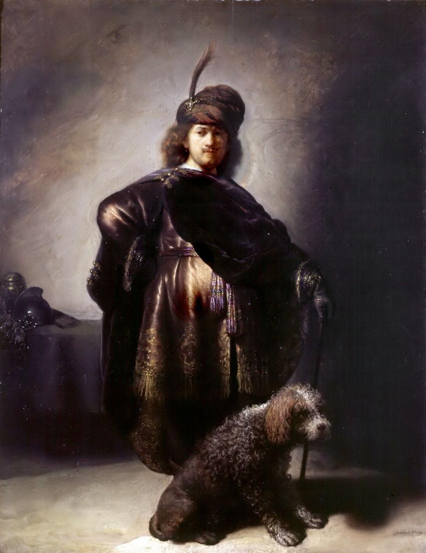 rembrandtselfportraitpoodle