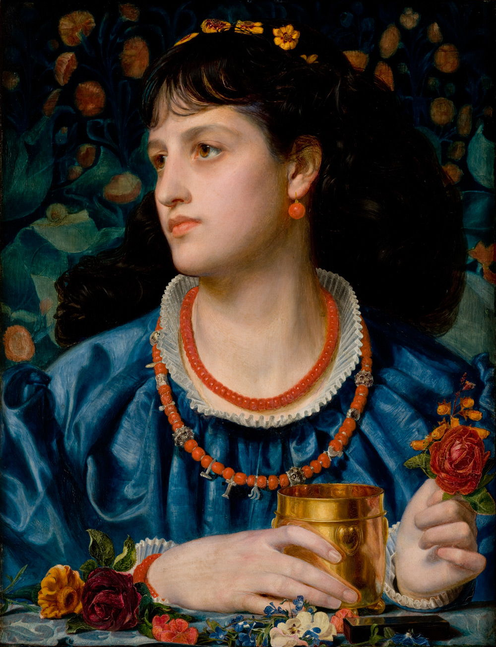 Into The Light: Frederick Sandys, Rossetti's Shadow?
