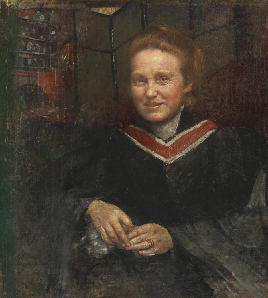 Dame Millicent Fawcett, C.B.E., LL.D. exhibited 1930 by Annie Louisa Swynnerton 1844-1933