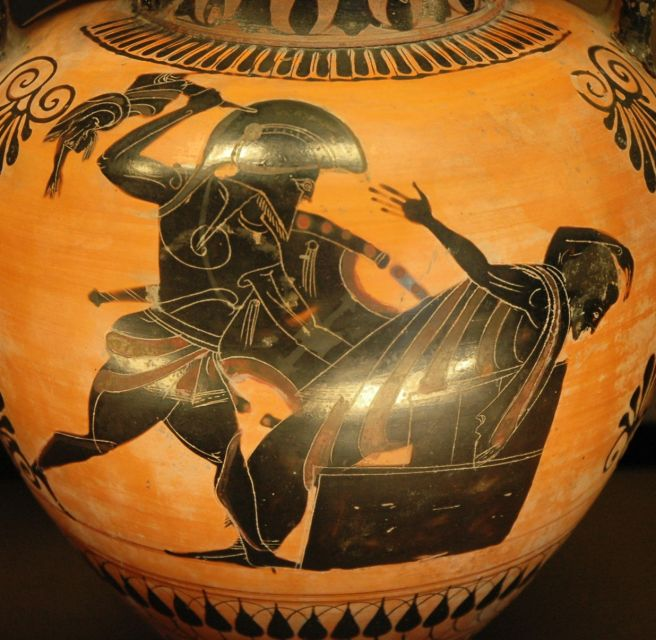 Image result for astyanax greek vase