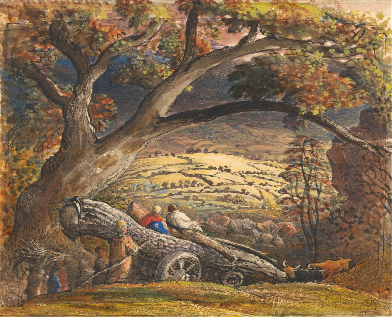 Landscapes Of The Ancients Samuel Palmer Early Visions