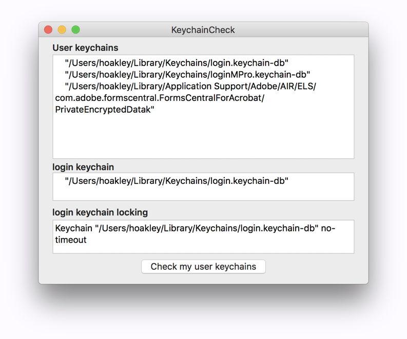 keychaincheck