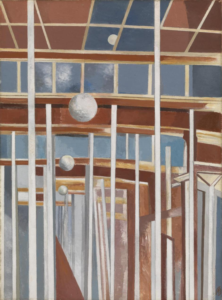 Voyages of the Moon 1934-7 by Paul Nash 1889-1946