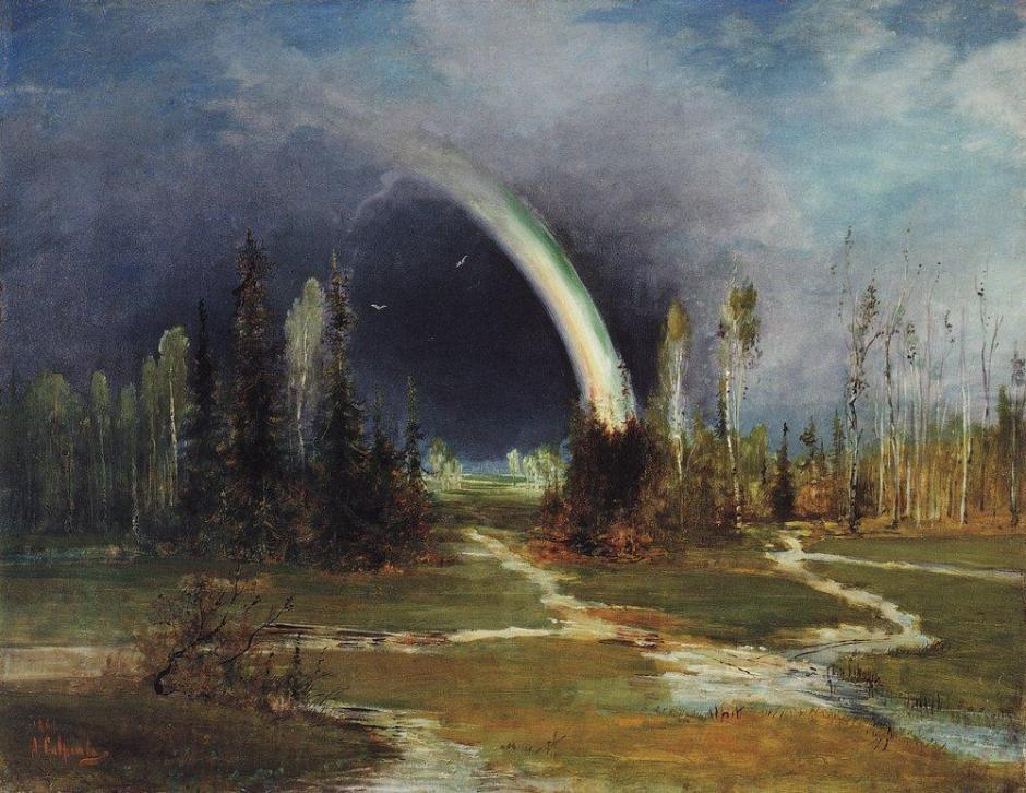 savrasovlandscaperainbow