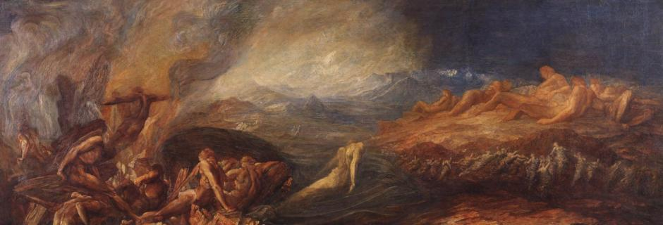Chaos c.1875-82 by George Frederic Watts 1817-1904