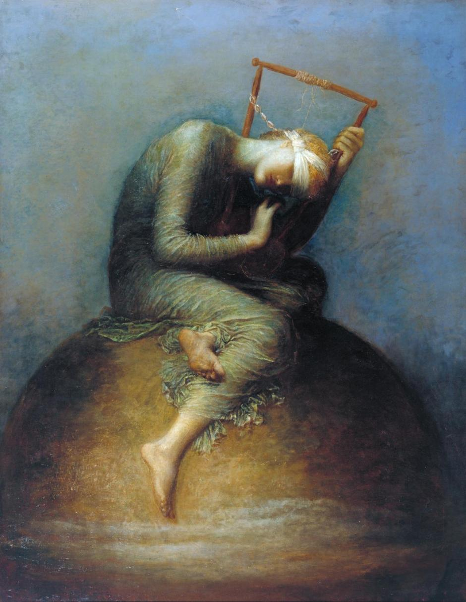 Hope 1886 by George Frederic Watts 1817-1904