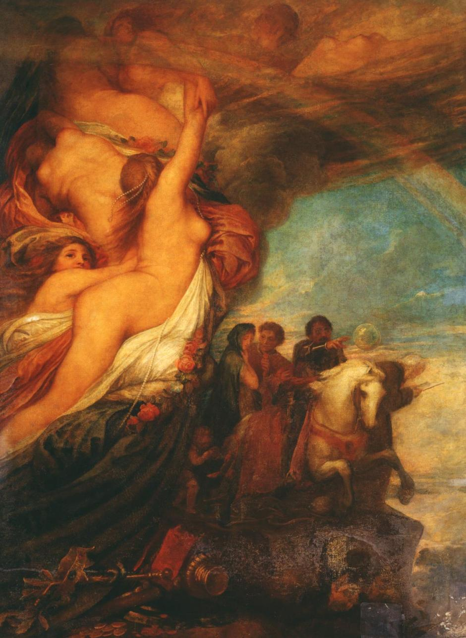 Life's Illusions 1849 by George Frederic Watts 1817-1904