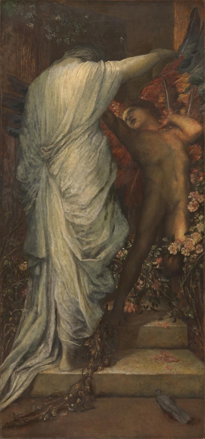 Love and Death c.1885-7 by George Frederic Watts 1817-1904