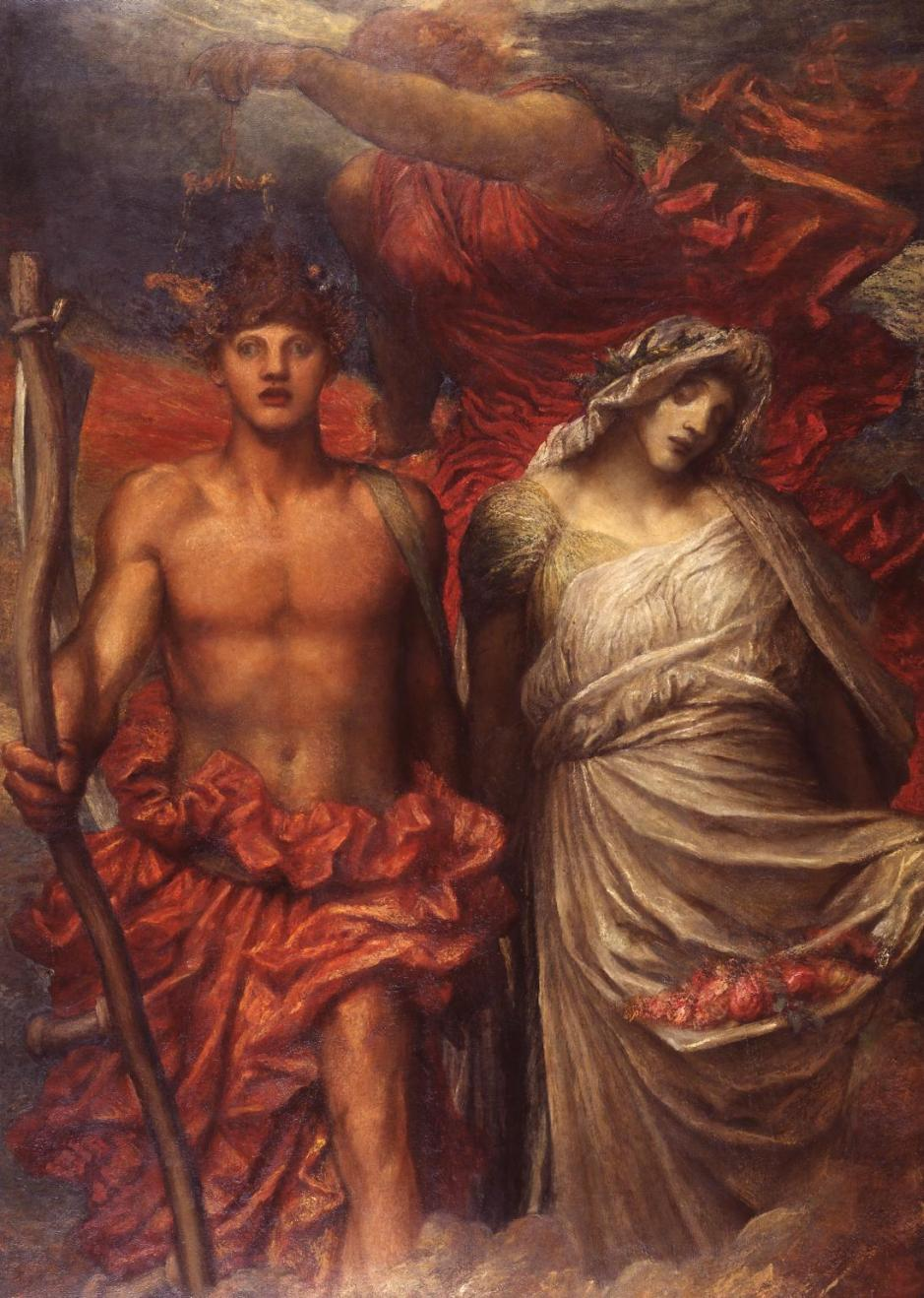 Time, Death and Judgement 1900 by George Frederic Watts 1817-1904