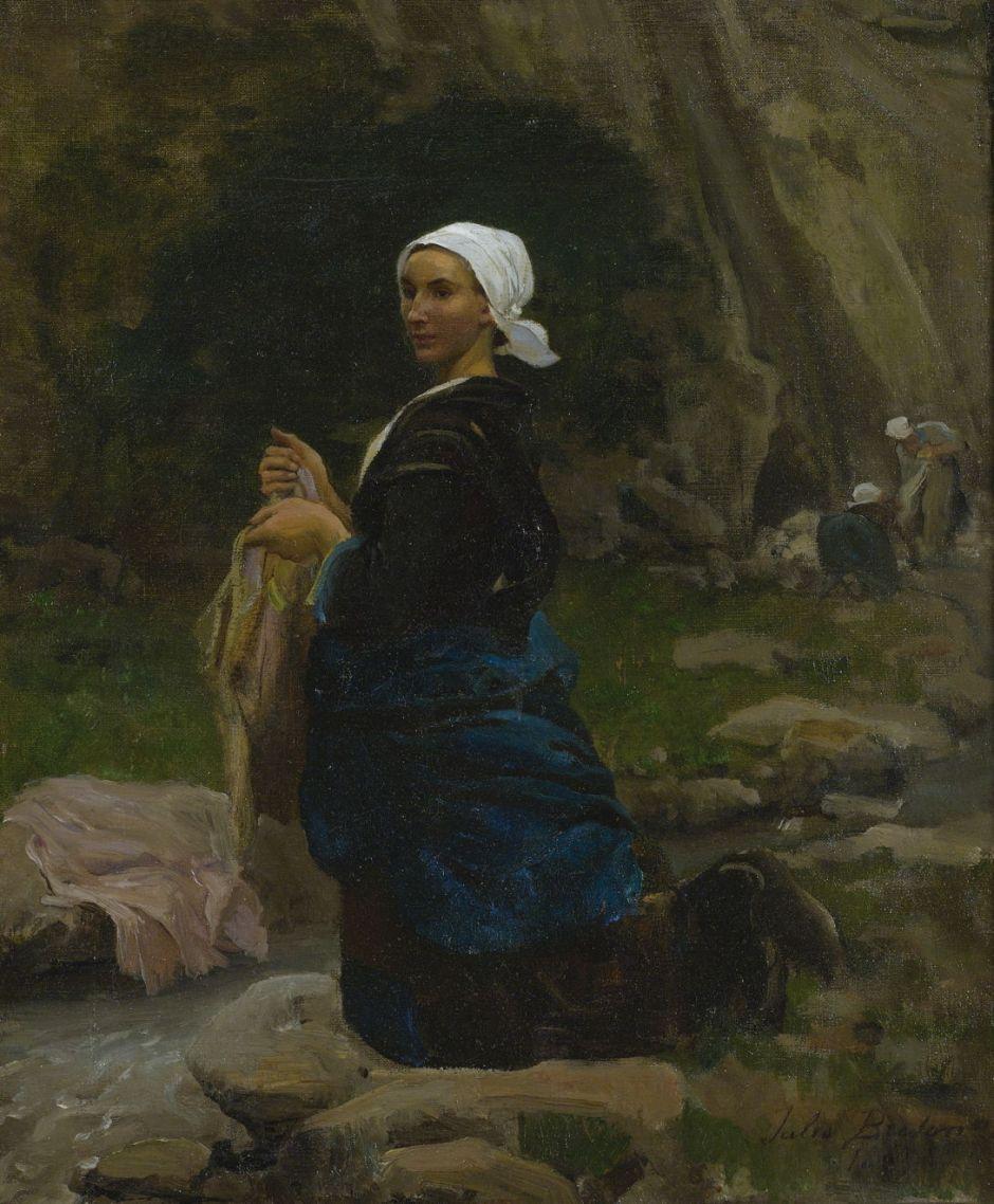 bretonwasherwomanbrittany
