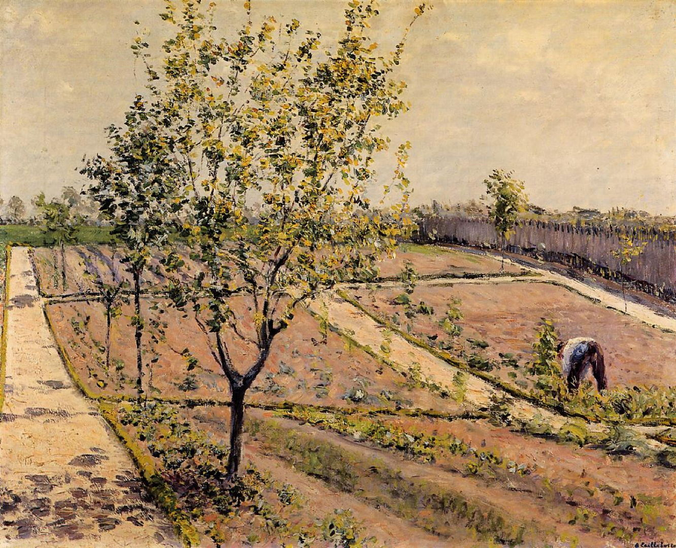 Other Gardens: The Vegetable Patch on Canvas – The Eclectic Light ...