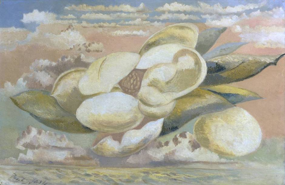 Flight of the Magnolia 1944 by Paul Nash 1889-1946