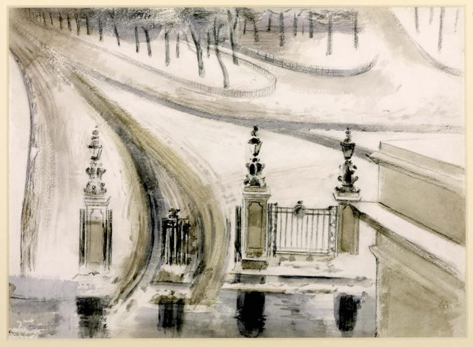 London: Winter Scene, No. 2 1940 by Paul Nash 1889-1946