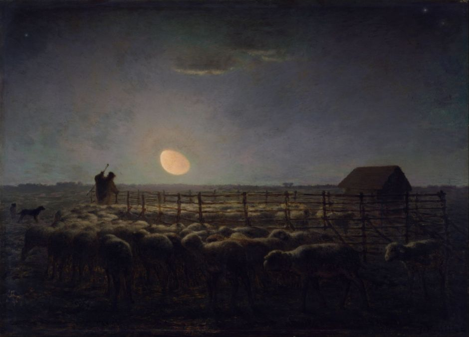 milletsheepfoldmoonlight