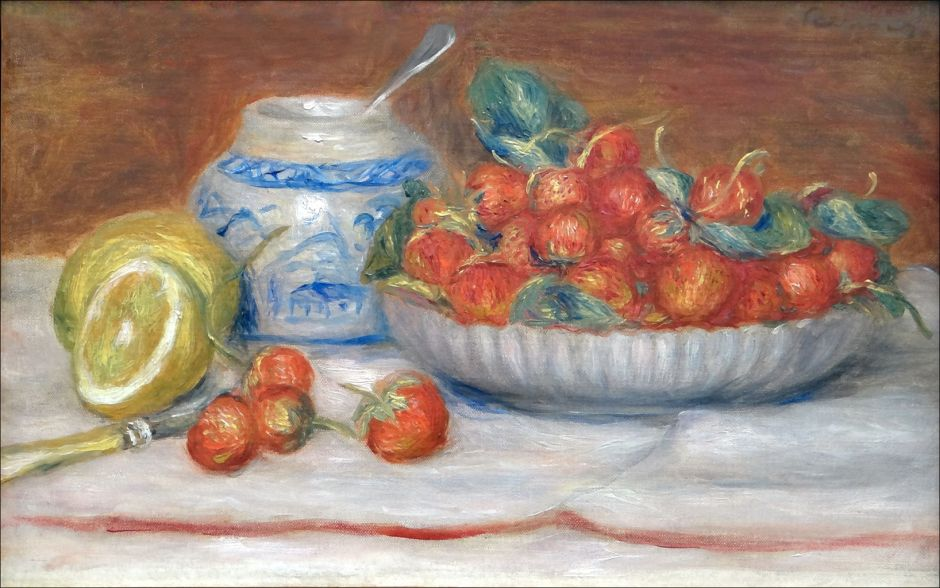 renoirstrawberries
