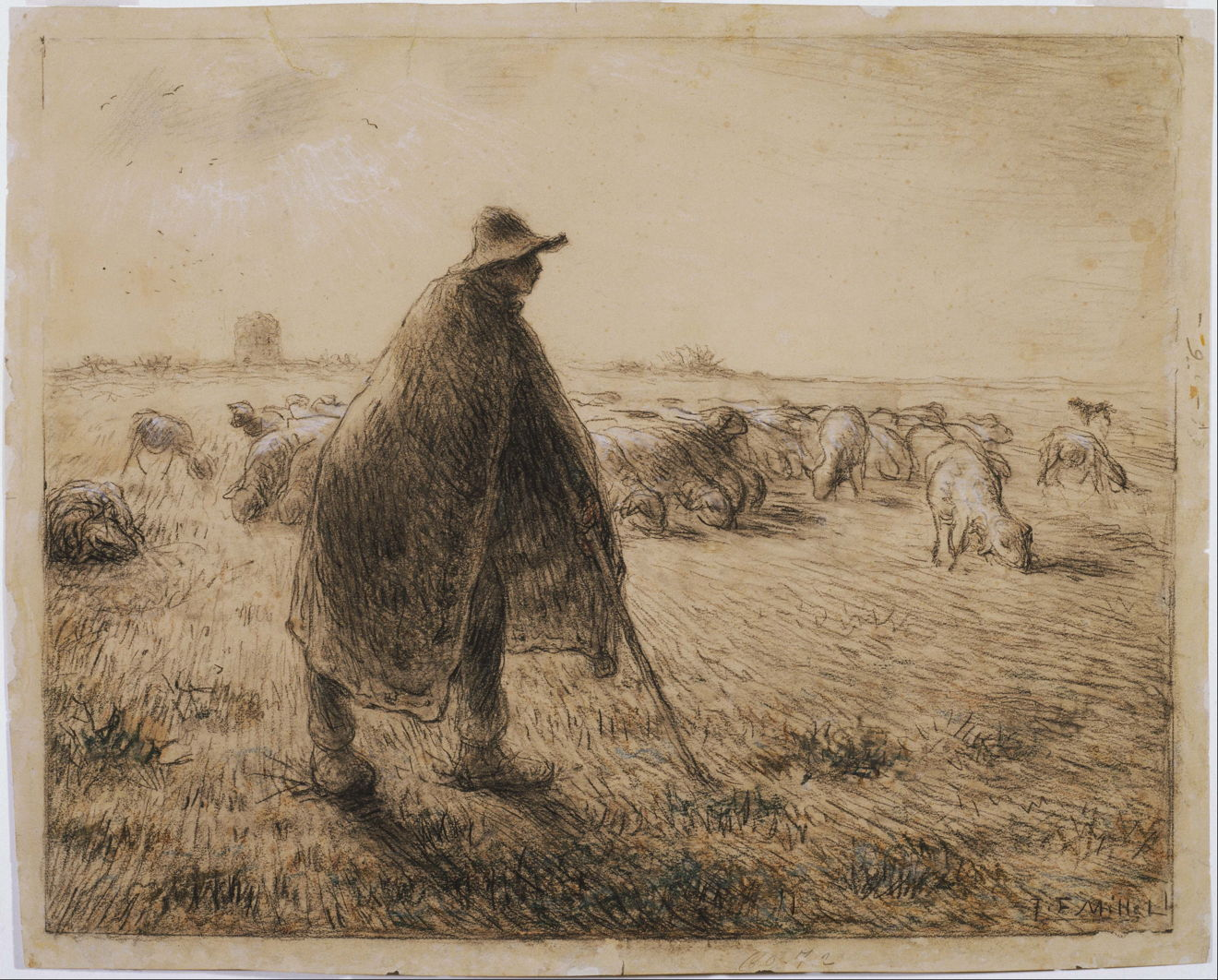 the life and works of jean francois millet Julia cartwright's recent work, jean francois millet: his life and letters, is founded on sensier's life, yet rounds out the study of.