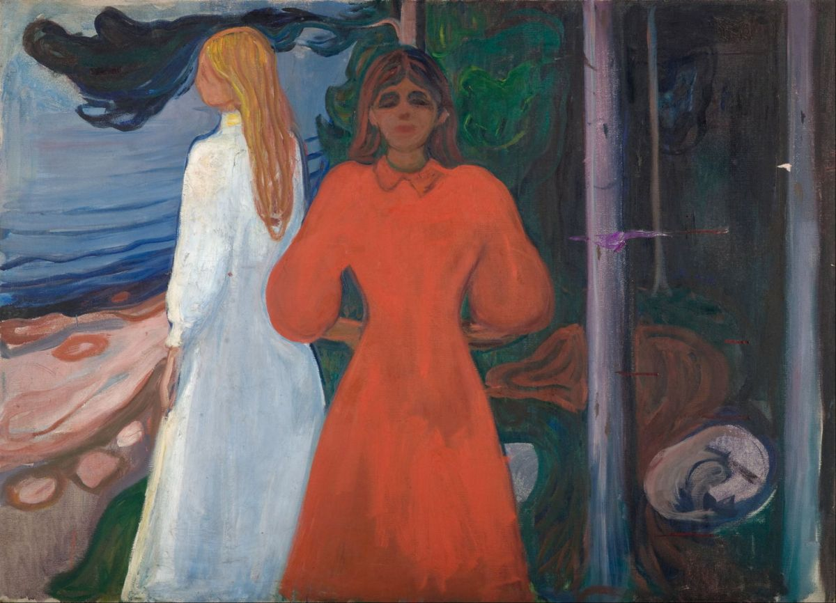 Edvard Munch The Frieze Of Life 2 Seeds Of Love The Eclectic Light Company