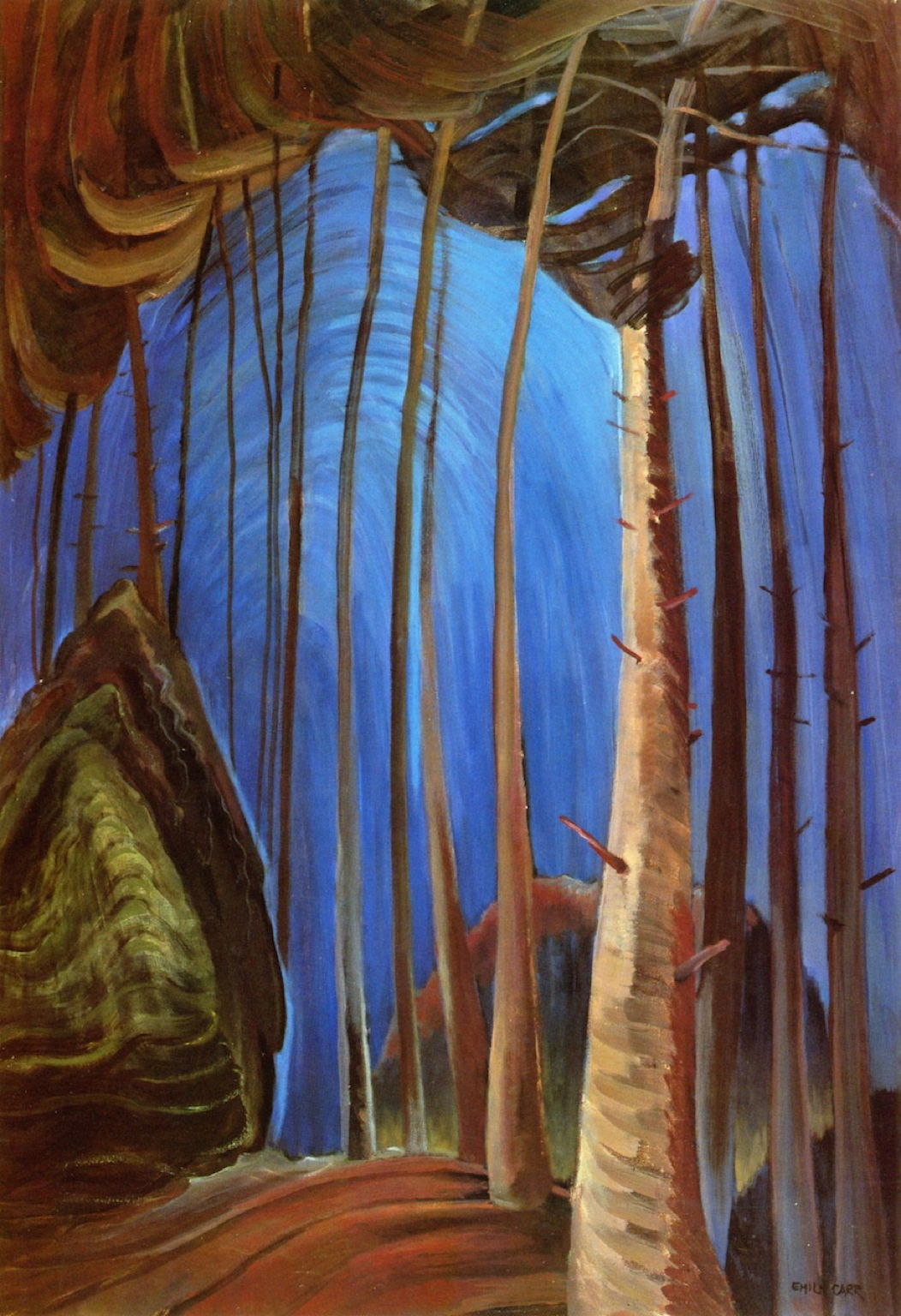 Totems And Trees Emily Carr S Paintings 1931 1936 The