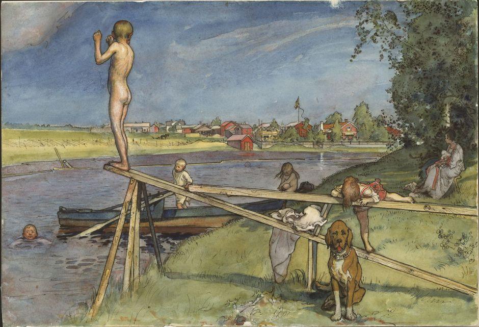 larssonpleasantbathingplace1890s